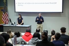 Financial Literacy Workshop, room 7128, March 25, 2019