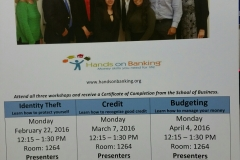 Financial Literacy Program at MDC, North Campus
