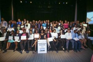 Future bankers Camp 2015 Graduation Ceremony , June 25, 2015