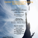 Annual Graduation and Forum Flyer 2018